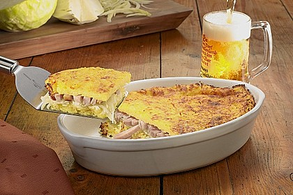 Kartoffelpuffer - Kasseler - Auflauf