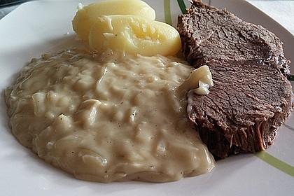 Rindfleisch mit Zwiebelsoße Westfälische Art 2