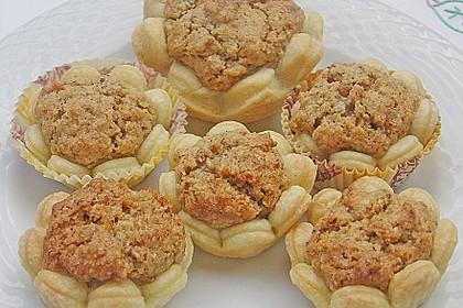 Blumen - Kekse mit Haselnussfülle 2