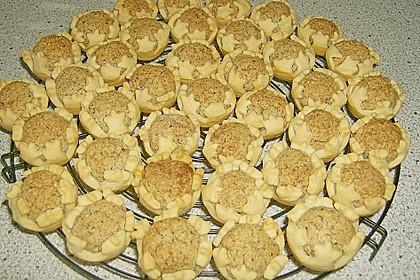 Blumen - Kekse mit Haselnussfülle 29