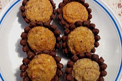 Blumen - Kekse mit Haselnussfülle 27