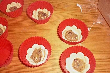 Blumen - Kekse mit Haselnussfülle 42