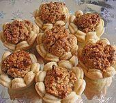 Blumen - Kekse mit Haselnussfülle (Bild)