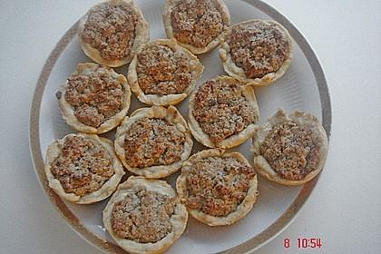 Blumen - Kekse mit Haselnussfülle 40