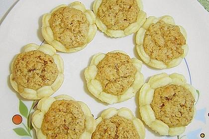 Blumen - Kekse mit Haselnussfülle 32