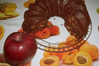 Gewürzkuchen mit Walnüssen und Apfel 2