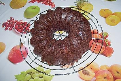 Gewürzkuchen mit Walnüssen und Apfel 3