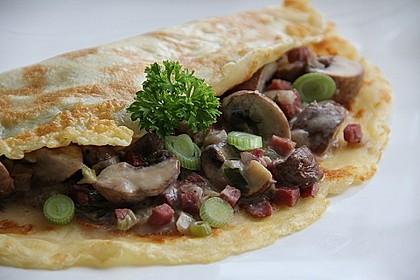 Pilz - Pfannkuchen