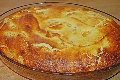 Quark-Grieß-Pfirsich-Auflauf 10