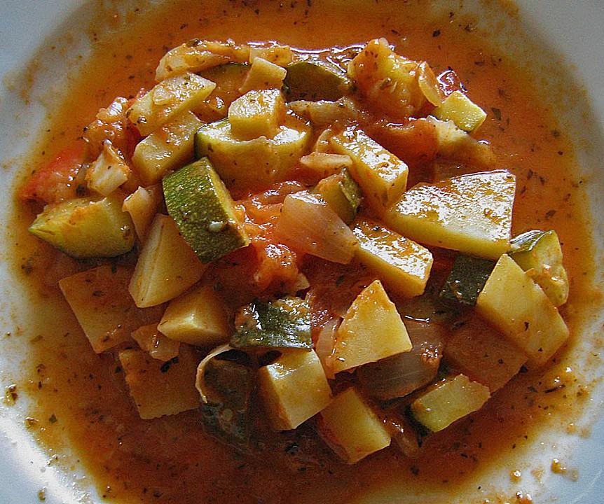 Rezept zucchini kartoffeln tomaten