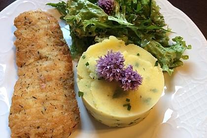 Kartoffelpüree mit Knoblauch und Kräutern 1