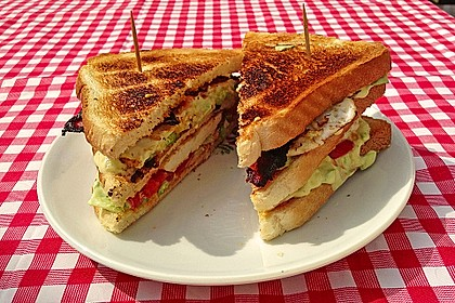 New York Club Sandwich 3