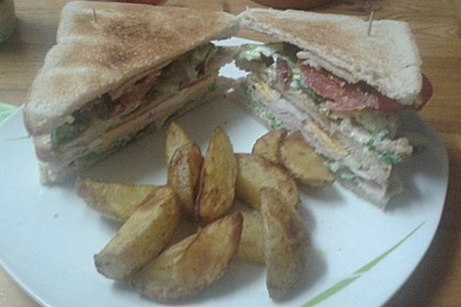 New York Club Sandwich 21