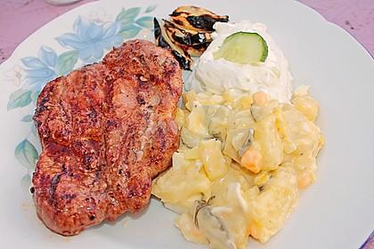 Eingelegtes Fleisch für den Grill 7