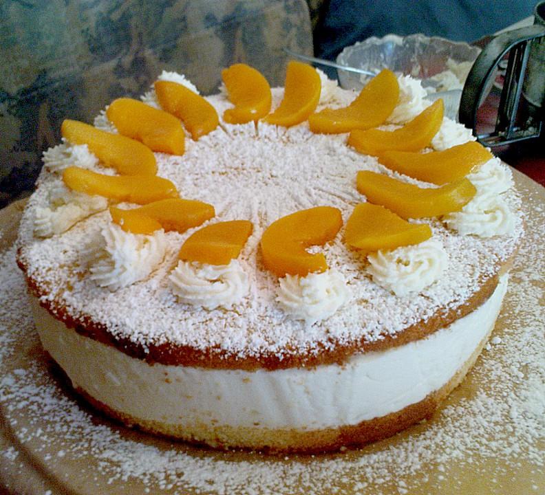 Schnelle Blechkuchen Rezepte Mit Bild: Shanais Schnelle Käse - Sahne - Torte Von SHanai