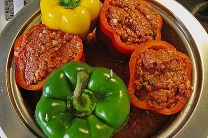 Gefüllte Paprika aus dem Schnellkochtopf 3