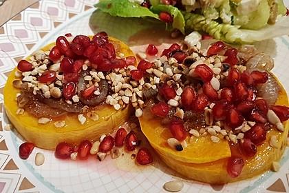 Gebackener Butternuss - Kürbis mit pikanter Zimtkruste 2