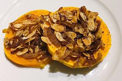 Gebackener Butternuss - Kürbis mit pikanter Zimtkruste 16