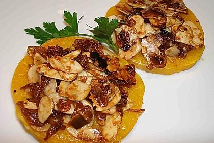 Gebackener Butternuss - Kürbis mit pikanter Zimtkruste 5