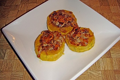 Gebackener Butternuss - Kürbis mit pikanter Zimtkruste 19