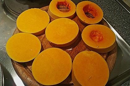 Gebackener Butternuss - Kürbis mit pikanter Zimtkruste 17