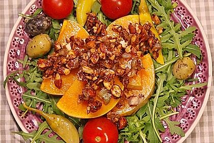 Gebackener Butternuss - Kürbis mit pikanter Zimtkruste 7