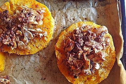 Gebackener Butternuss - Kürbis mit pikanter Zimtkruste 6