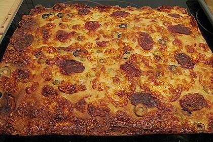 Albertos dünnes Pizzabrot 102
