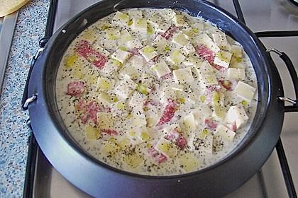 Albertos dünnes Pizzabrot 115