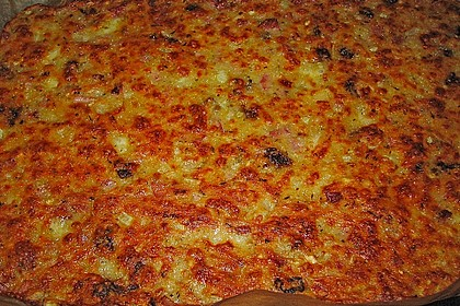Albertos dünnes Pizzabrot 65