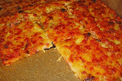 Albertos dünnes Pizzabrot 68