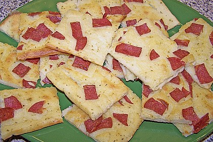 Albertos dünnes Pizzabrot 58