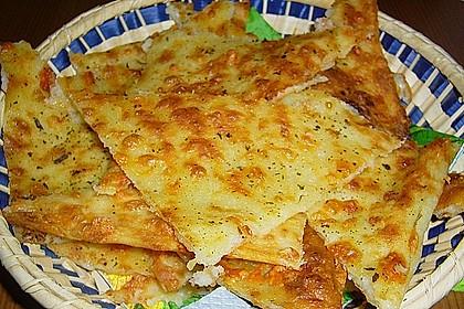 Albertos dünnes Pizzabrot 25