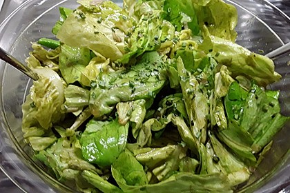 Vinaigrette für Kopfsalate 3