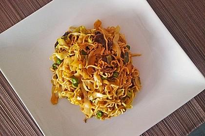 Erstklassige Curry - Nudeln 0
