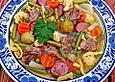 Gemüseeintopf 'Jumbo' nach Gaisburger Art