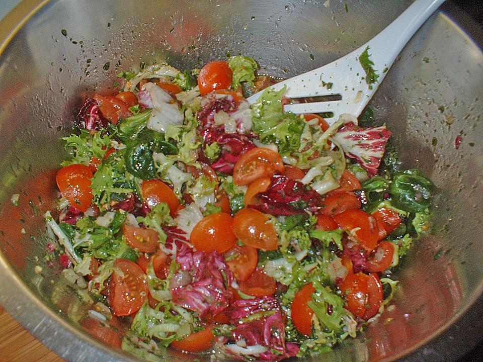 Wieviel kalorien hat gemischter salat