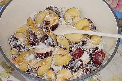 Weihnachtsmarmelade mit Zwetschgen und Schokolade 4