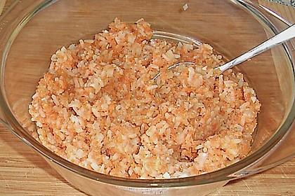 Bratlinge mit Reis und Möhrentrester 20