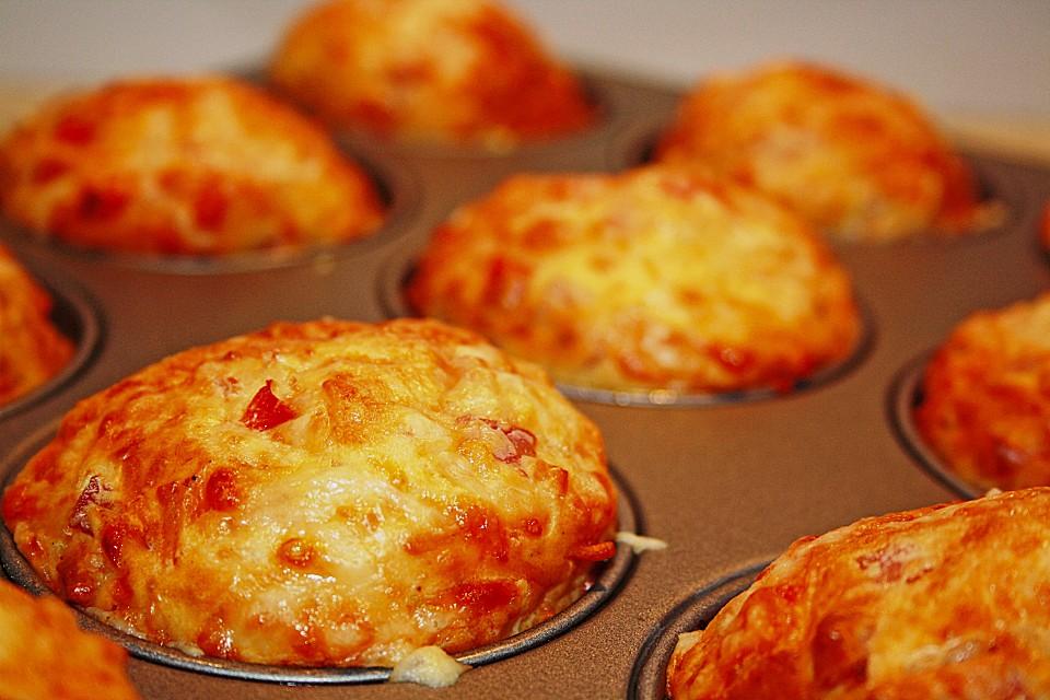 Käse - Schinken - Muffins