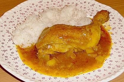 Hähnchen - Curry mit Apfelsoße 22