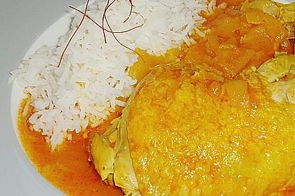 Hähnchen - Curry mit Apfelsoße 26