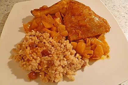 Hähnchen - Curry mit Apfelsoße 21
