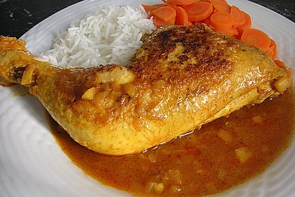 Hähnchen - Curry mit Apfelsoße 5