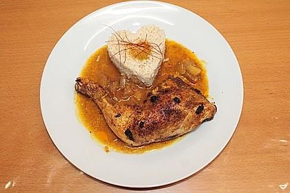 Hähnchen - Curry mit Apfelsoße 12