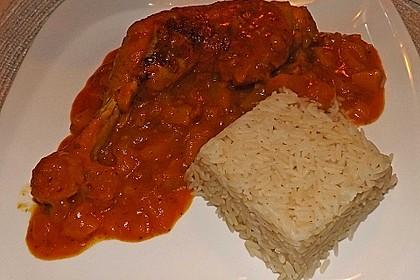 Hähnchen - Curry mit Apfelsoße 29