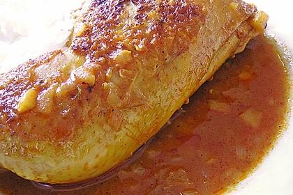 Hähnchen - Curry mit Apfelsoße 30