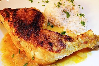 Hähnchen - Curry mit Apfelsoße 24