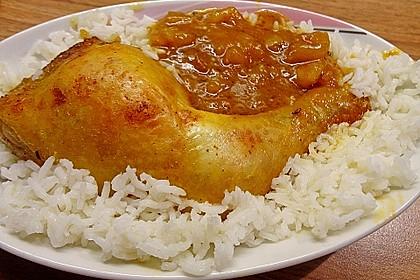 Hähnchen - Curry mit Apfelsoße 8
