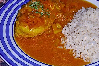 Hähnchen - Curry mit Apfelsoße 23